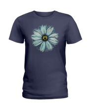 Flower Peace Ladies T-Shirt thumbnail