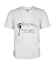 Blowin in the wind V-Neck T-Shirt thumbnail