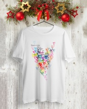 There Is A Voice Listen Love Classic T-Shirt lifestyle-holiday-crewneck-front-2