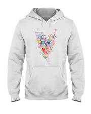 There Is A Voice Listen Love Hooded Sweatshirt thumbnail