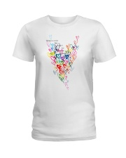 There Is A Voice Listen Love Ladies T-Shirt thumbnail