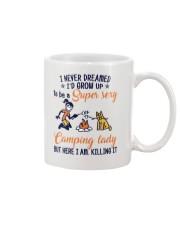 Camping Lady Mug thumbnail