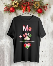 YOU AND ME Classic T-Shirt lifestyle-holiday-crewneck-front-2