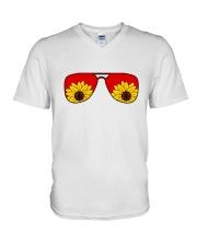 Glass Peace V-Neck T-Shirt thumbnail
