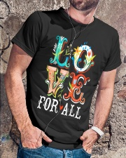LOVE FOR ALL Classic T-Shirt lifestyle-mens-crewneck-front-4