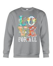 LOVE FOR ALL Crewneck Sweatshirt thumbnail