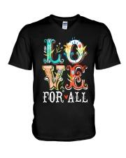 LOVE FOR ALL V-Neck T-Shirt thumbnail