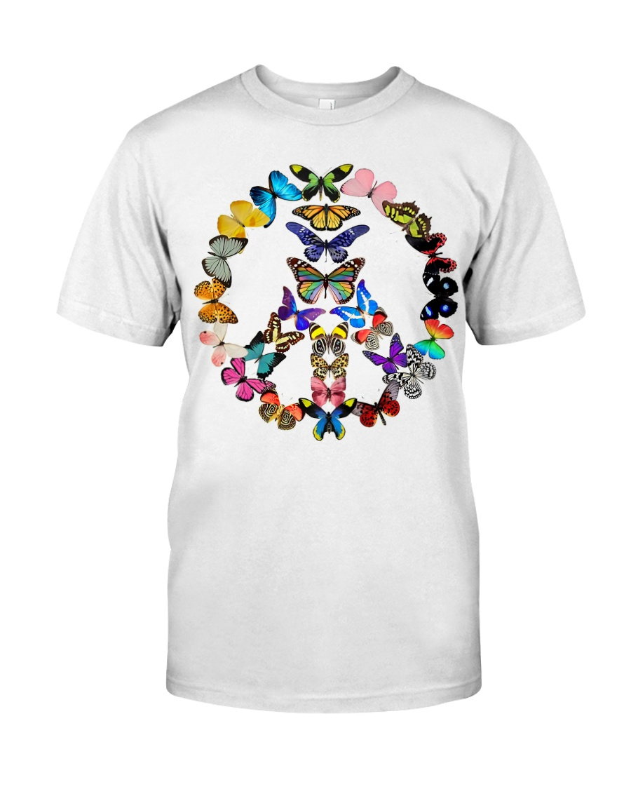 BUTTERFLY PEACE Premium Fit Mens Tee