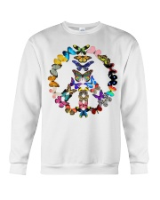 BUTTERFLY PEACE Crewneck Sweatshirt thumbnail