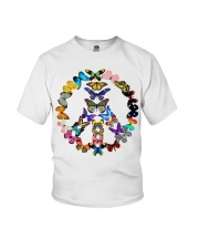 BUTTERFLY PEACE Youth T-Shirt thumbnail