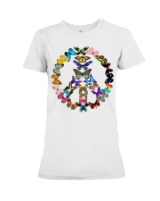 BUTTERFLY PEACE Premium Fit Ladies Tee thumbnail