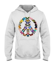 BUTTERFLY PEACE Hooded Sweatshirt thumbnail