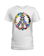 BUTTERFLY PEACE Ladies T-Shirt thumbnail
