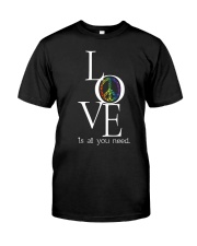 LOVE IS ALL YOU NEED Premium Fit Mens Tee thumbnail