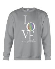 LOVE IS ALL YOU NEED Crewneck Sweatshirt thumbnail