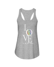 LOVE IS ALL YOU NEED Ladies Flowy Tank thumbnail