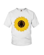 PEACE FOLWER Youth T-Shirt thumbnail