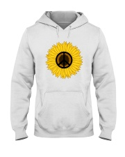 PEACE FOLWER Hooded Sweatshirt thumbnail