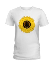 PEACE FOLWER Ladies T-Shirt tile