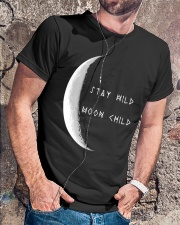 Stay Wild Moon Child Classic T-Shirt lifestyle-mens-crewneck-front-4