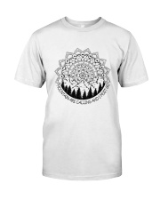 Mountains Are Calling Classic T-Shirt front