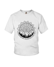 Mountains Are Calling Youth T-Shirt thumbnail