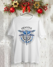 Imagine Classic T-Shirt lifestyle-holiday-crewneck-front-2