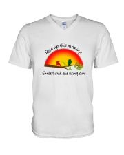 Rise Up This Morning V-Neck T-Shirt thumbnail