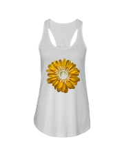 FLOWER PEACE Ladies Flowy Tank thumbnail