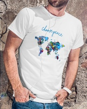 WORLD PEACE Classic T-Shirt lifestyle-mens-crewneck-front-4