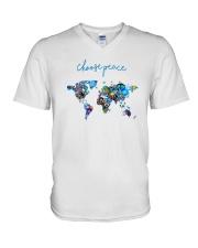 WORLD PEACE V-Neck T-Shirt thumbnail