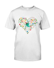 Peace And Love Classic T-Shirt front