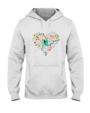 Peace And Love Hooded Sweatshirt thumbnail
