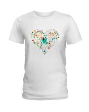 Peace And Love Ladies T-Shirt thumbnail
