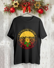 Be A Sunflower Classic T-Shirt lifestyle-holiday-crewneck-front-2