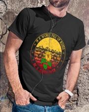 Be A Sunflower Classic T-Shirt lifestyle-mens-crewneck-front-4