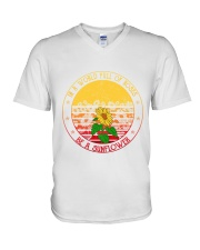 Be A Sunflower V-Neck T-Shirt thumbnail