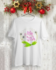 MAKE A WISH Classic T-Shirt lifestyle-holiday-crewneck-front-2