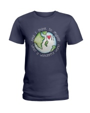 AND I THINK TO MYSELF WHAT A WONDERFUL WORD 2 Ladies T-Shirt thumbnail
