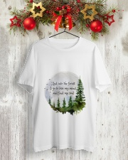 Into The Forest I Go A Classic T-Shirt lifestyle-holiday-crewneck-front-2