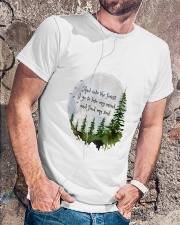 Into The Forest I Go A Classic T-Shirt lifestyle-mens-crewneck-front-4