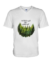 HP-D-28021932-What A Wonderful World V-Neck T-Shirt thumbnail