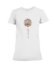 Yoga Mandala Style Premium Fit Ladies Tee thumbnail