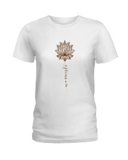 Yoga Mandala Style Ladies T-Shirt thumbnail