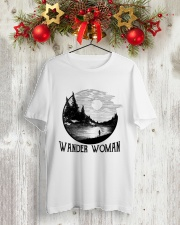Wander Woman Classic T-Shirt lifestyle-holiday-crewneck-front-2