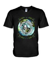 BEE THE CHANGE V-Neck T-Shirt thumbnail