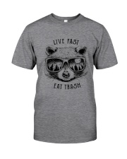 CP-D-0503193-Life Fast Eat Trash Classic T-Shirt front