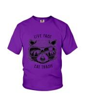 CP-D-0503193-Life Fast Eat Trash Youth T-Shirt thumbnail