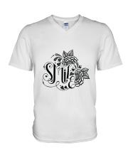 Smile V-Neck T-Shirt thumbnail