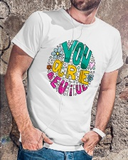 YOU ARE BEAUTIFUL Classic T-Shirt lifestyle-mens-crewneck-front-4